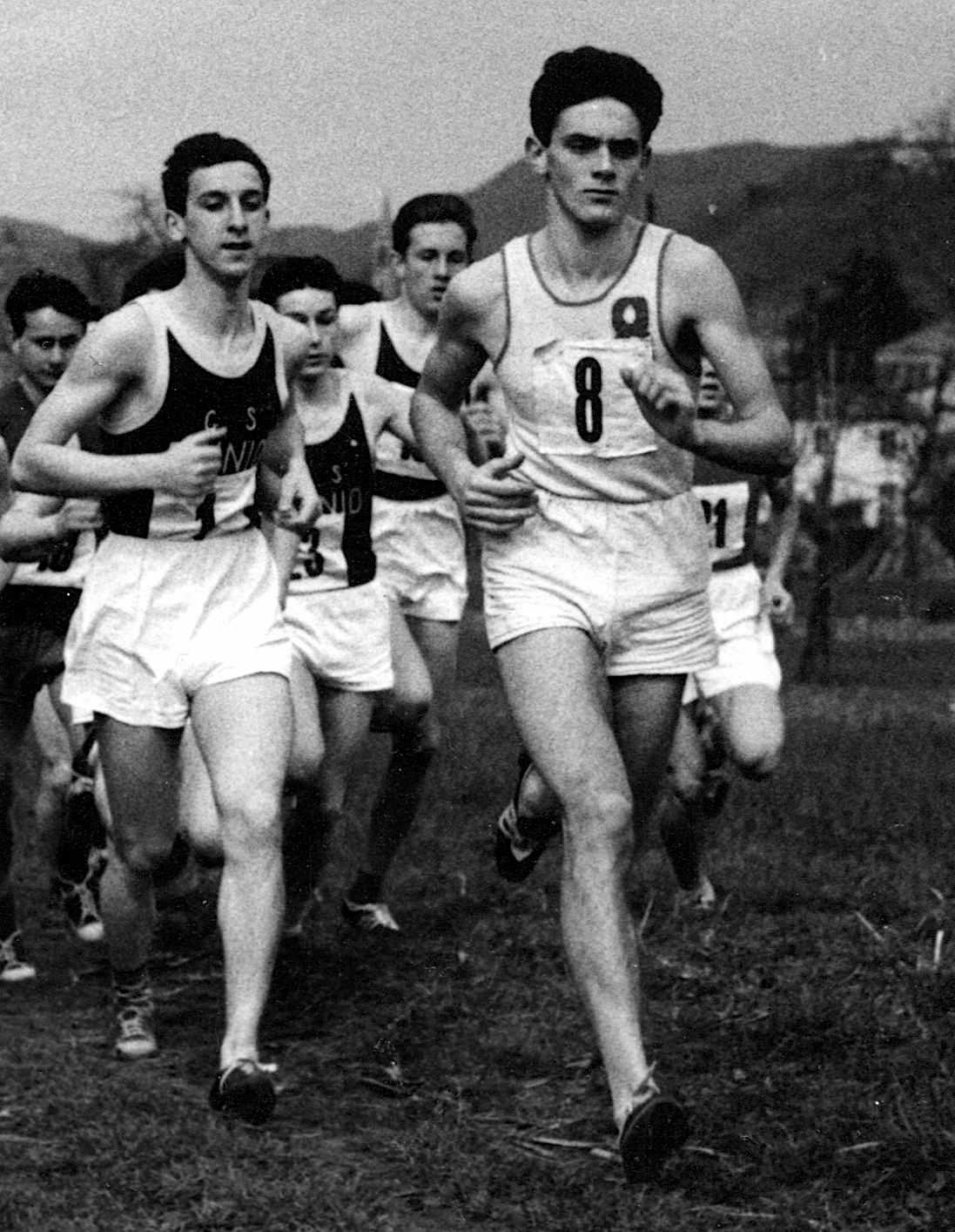 Biondi Corsa campestre 1957
